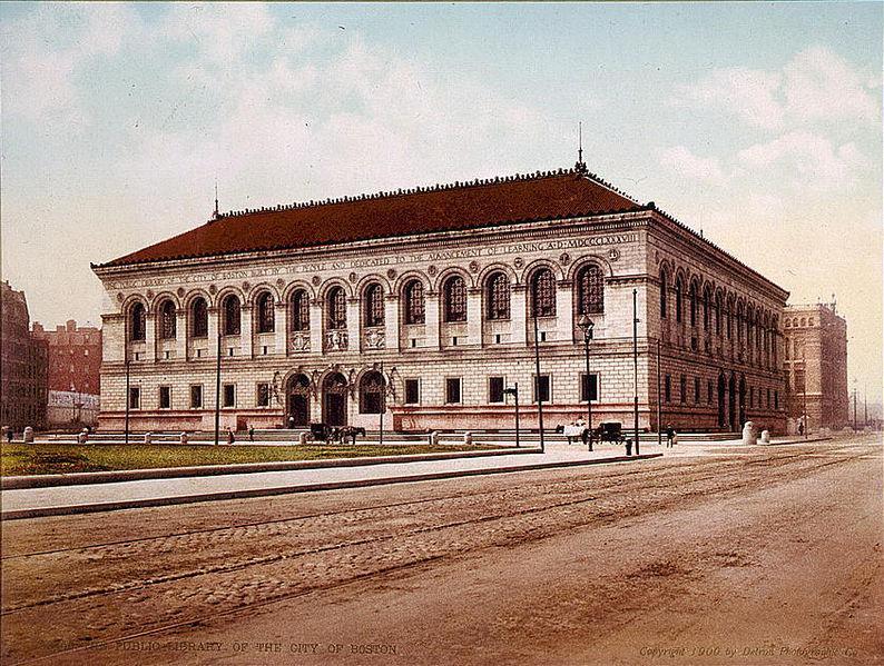 Boston's Copley Library